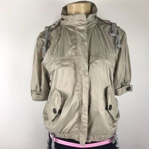 adidas stella mccartney windbreaker hoodie jacket